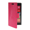 MOONCASE Slim Leather Side Flip Wallet Card Slot Pouch Stand Shell Back ЧЕХОЛ ДЛЯ Nokia Lumia 930 Hot pink чехол nillkin для nokia lumia 930