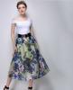 Lovaru ™ 2015 летом новый большой моды темперамент печати органза юбки пачки юбки женские юбки в розницу