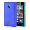 MOONCASE Hard Rubberized Rubber Coating Devise Back ЧЕХОЛДЛЯ Nokia Lumia 532 Blue nokia cc 3096 чехол для lumia 435 532 white