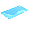 MOONCASE S-Line Soft Flexible Silicone Gel TPU Skin Shell Back чехол для Sony Xperia T3 D5103 D5106 Blue mooncase s line soft flexible silicone gel tpu skin shell back чехол для xiaomi mi note pro blue