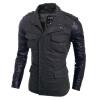 Zogaa Новый мужской моды тонкий ветер пальто мода падение сквозь ветер