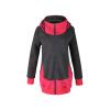 КТ&ХФ зима женщин случайные хлопка молнии капюшоном пальто спорта пальто женщин пальто