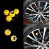 Автомобиль грузовой велосипед Желтые Улыбка лица Бал шина воздушного клапанной крышки колесных дисков