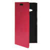 MOONCASE Slim Leather Side Flip Wallet Card Slot Pouch with Kickstand Shell Back чехол для Nokia Lumia 730 Hot pink mooncase slim leather side flip wallet card slot pouch with kickstand shell back чехол для sony xperia c3 hot pink