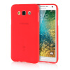 MOONCASE Transparent Soft Flexible Silicone Gel TPU Skin Shell Back ЧЕХОЛ ДЛЯ Samsung Galaxy E7 Red for ipad mini4 cover high quality soft tpu rubber back case for ipad mini 4 silicone back cover semi transparent case shell skin