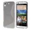 MOONCASE S - линия Мягкий силиконовый гель ТПУ защитный чехол гибкой оболочки Защитный чехол для HTC Desire 626 Серый