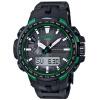CASIO часы PROTREK мужской солнечный альпинизм наружный компас спортивные часы электрические волны кварцевые часы PRW-6100Y-1A цена
