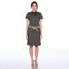 где купить po.lo.kate 2015 новой модой женщин элегантное платье с коротким рукавом причинно - следственной арбуз, красный, зеленый, черный цвет платья с Welt 3 по лучшей цене