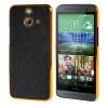 MOONCASE Flash Flake Skin золото Chrome Hard Back чехол для Cover HTC One E8 чёрный
