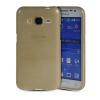MOONCASE Мягкие гибкие силиконовый гель ТПУ Дело Чехол кожи для Samsung Galaxy Core Prime G360 / Prevail LTE желтый valenta для samsung galaxy core lte g386f white