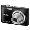 Nikon (Nikon) Coolpix A100 компактная цифровая камера (20,05 миллиона пикселей 2,7-дюймовый экран, 5x оптический зум 26мм широкоугольный) Черный стоимость