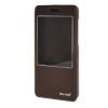 MOONCASE Huawei Honor 4X чехол Slim Window View Design Flip Leather Bracket Back чехол Cover wine чехол для сотового телефона honor 5x smart cover grey