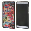 все цены на MOONCASE чехол для Huawei Ascend P8 Pattern series Flexible Soft Gel TPU Silicone Skin Slim Durable Cover онлайн
