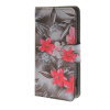 MOONCASE Flower style Leather Side Flip Wallet Card Slot Stand Pouch чехол для Sony Xperia Z4 Compact (Mini) a12 luxury stand flip
