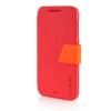 MOONCASE Leather Side Flip Pouch Stand Ultra Slim Shell Back ЧЕХОЛДЛЯ HTC Desire D510 Red htc u ultra sapphire blue 64gb