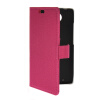 MOONCASE Slim Leather Side Flip Wallet Slot Pouch Stand Shell Back ЧЕХОЛ ДЛЯ Motorola Moto Droid Turbo XT1254 Hot pink kinston i love you patterned pu leather full body case w stand for motorola moto g black red