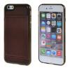 MOONCASE iPhone 6 Plus (5,5 ) Кожа карты кожи чехол + силиконовый гель ТПУ Тонкий прочный чехол Обложка Кларе mooncase iphone 6 plus 5 5 чехол