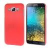 MOONCASE Жесткий Прорезиненные Резина Оболочка Вернуться Защитная крышка чехол для Samsung Galaxy E5 E500 розовый