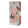 MOONCASE Butterfly style Leather Side Flip Wallet Card Slot Stand Pouch чехол для Sony Xperia Z4 Compact (Mini) a02 чехол для sony xperia z4 compact deppa air case red