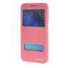MOONCASE Samsung Galaxy S6 чехол для View Slim Leather Flip Pouch Bracket Back Cover Pink mooncase samsung galaxy a7 чехол для view leather flip pouch bracket back cover pink