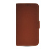 MOONCASE High quality Leather Side Flip Wallet Card Slot Pouch Stand Shell Back ЧЕХОЛ ДЛЯ Samsung Galaxy S5 I9600 Brown mooncase leather side flip wallet card slot pouch stand shell back чехол для samsung galaxy core i8260 i8262 black white