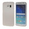 MOONCASE Жесткий Прорезиненные Резина Оболочка Вернуться Защитная крышка чехол для Samsung Galaxy S6 Edge белый