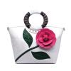роскошь бренды женщин кожаные сумки закрывается цветы невеста носить сумку крупных довольно сумку через плечо сумку для девушки бренды
