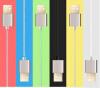 2 в 1 USB-кабель на молнии высокая скорость для iPhone Samsung Huawei Android зарядный USB-кабель молния куплю кабель usb для fdv 606