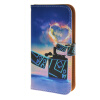 MOONCASE чехол для Huawei Ascend Y550 Pattern series Leather Flip Wallet Card Slot Stand Back Cover boxwave huawei g6310 bamboo natural panel stand premium bamboo real wood stand for your huawei g6310 small
