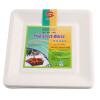 Супермаркет] [Jingdong Рыба целлюлоза одноразовая посуда 8-дюймовый квадратный лоток (№) 30 установлен Р202