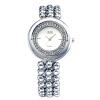 2 цвета Женщины швейцарские часы Заполненные Кристалл часы с Девушкой Аналоговый нержавеющей стали наручные часы браслет прямоугольник платье браслет G & D201508