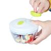 [Супермаркет] Jingdong красоты пряжки Qiecai для бытовых ручной мясорубки резак блюдо машина мини твист чеснок чеснок 500ML устройства