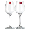Лорна (РОНА) Вино красное вино вино бокал с бессвинцового хрусталя вина с только установленными бис (470ml 2 *) угол желоба внешний grand line 125 90° красное вино металлический