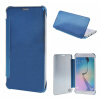 MOONCASE Samsung Galaxy S6 Edge Plus ЧЕХОЛ ДЛЯ Hard Plastic Design Flip Pouch Blue mooncase litchi skin золото chrome hard back чехол для cover samsung galaxy s6 edge браун