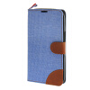 MOONCASE Alcatel One Touch POP C9 , Leather Flip Card Holder Pouch Stand Back ЧЕХОЛ ДЛЯ Alcatel One Touch POP C9 Blue alcatel one touch pop 3 5025d silver