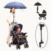 доказательство всеобщей дождь детской коляски прам коляску председателя зонтик бар держатель ручки чехлы колеса детской коляски