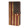 MOONCASE U.S American Flag Leather Wallet Flip Card Slot Stand Pouch чехол для Huawei Ascend P8 lite A09