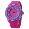 Простой дизайн Повседневный V6 Часы Женщины Яркие цвета Спортивные часы высокого качества кварцевые наручные часы Часы Часы Мужчина для V222 часы