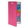 MOONCASE Slim Leather Flip Wallet Card Pouch with Kickstand Shell Back ЧЕХОЛДЛЯ Samsung Galaxy S5 I9600 Hot pink mooncase galaxy s5 leather flip wallet card holder pouch stand back чехол для samsung galaxy s5 hot pink