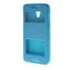 MOONCASE Two window Leather Wallet Flip Pouch чехол для HTC Desire 620 Blue