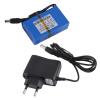 1800mAh литий-ионный аккумулятор Супер + зарядное устройство ЕС Plug аккумулятор