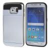 все цены на MOONCASE ЧЕХОЛДЛЯ Samsung Galaxy S6 Edge Soft Silicone Gel TPU Skin With Card Holder Protective Silver онлайн