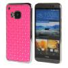 MOONCASE HTC One М9 Футляр Роскошные Chrome горный хрусталь Bling Звезда Вернуться Дело Чехол для HTC One M9 розовый дело чести или звезда бенгалии