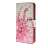 MOONCASE Plum flower style Leather Side Flip Wallet Card Slot Stand Pouch чехол для Sony Xperia Z4 Compact (Mini) a06 чехол для sony xperia z4 compact deppa air case red