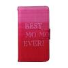 MOONCASE для Samsung Galaxy J1 кожаный чехол Folio Флип открытки с Kickstand Wallet Защитный Чехол обложка No.A03 чехол обложка белый флип для samsung s5230