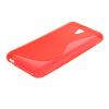 MOONCASE S - линия Мягкие гибкие силиконовый гель ТПУ Оболочка задняя крышка чехол для HTC Desire 620G красный htc desire 650