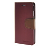 MOONCASE чехол для iPhone 6 (4.7) PU Leather Flip Wallet Card Slot Stand Back Cover Red retro flip cover pu leather case w card slot and stand for iphone 6 4 7 wine red