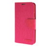 MOONCASE Galaxy S5 , Leather Flip Wallet Card Holder Pouch Stand Back ЧЕХОЛ ДЛЯ Samsung Galaxy S5 Hot pink чехол для samsung galaxy s5 printio москва