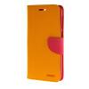 MOONCASE Cross pattern Leather Flip Wallet Card Slot Stand Back чехол для HTC One E9+ E9 Plus Yellow mooncase cross pattern leather flip wallet card slot stand back чехол для htc one e9 e9 plus yellow