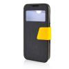 MOONCASE View Window Leather Side Flip Pouch Ultra Slim Shell Back ЧЕХОЛДЛЯ HTC Desire 310 D310W Black htc desire 650